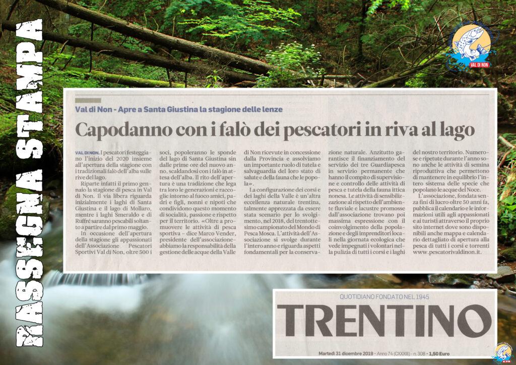 Trentino - Rassegna Stampa | Associazione Pescatori Val di Non
